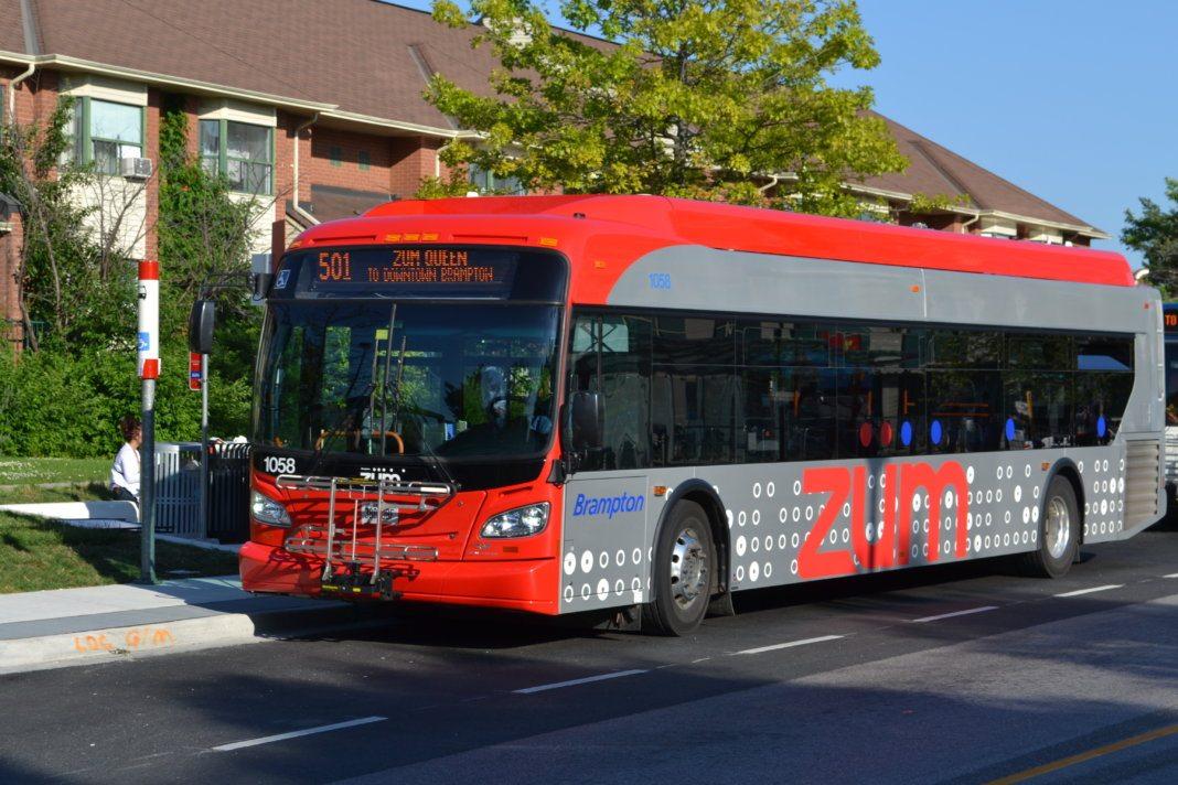 Brampton Transit Launches Z 252 M Queen West In September