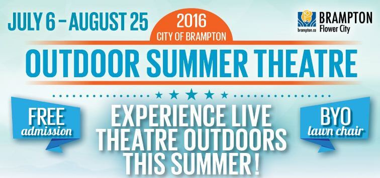 Outdoor Summer Theatre Official Website Header