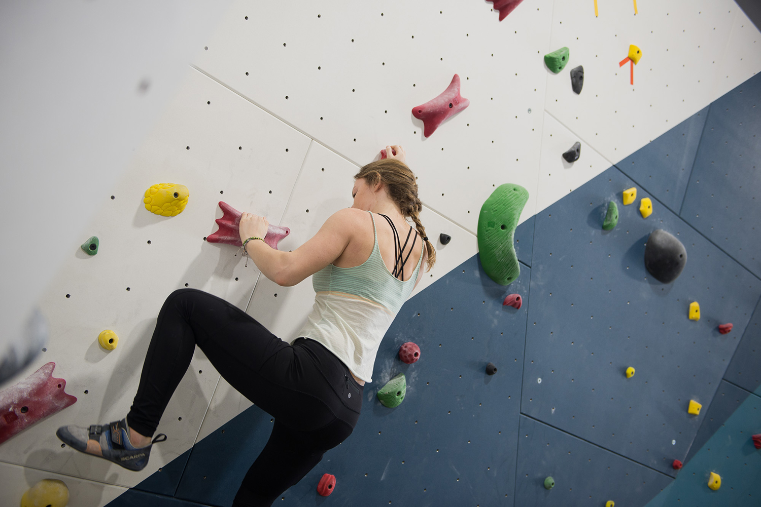 Rock climbing in brampton
