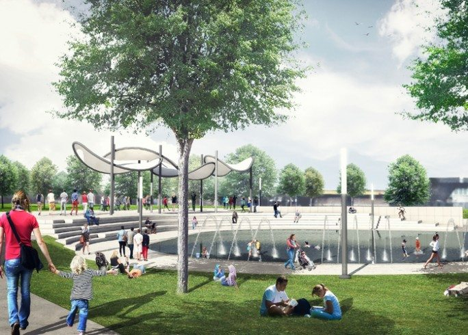 Chinguacousy Park Will Have A Huge New Splash Pad This Summer