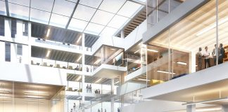 Ryerson University Brampton Campus interior. // Courtesy of Ryerson University