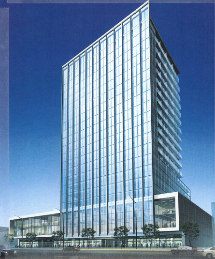 174-184 Queen Street Office Tower // Courtesy of the City of Brampton