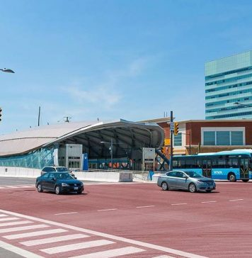 York Region's BRT project could link with the Queen Street BRT line. // Courtesy of vivaNEXT