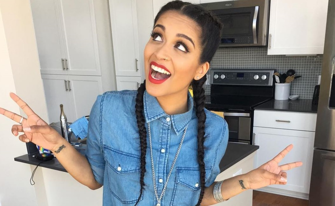 Lilly singh iisuperwomanii hot tub dancing - 2 6