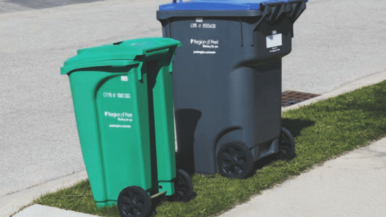 Here Are The Changes To Waste Services In Peel Bramptonist