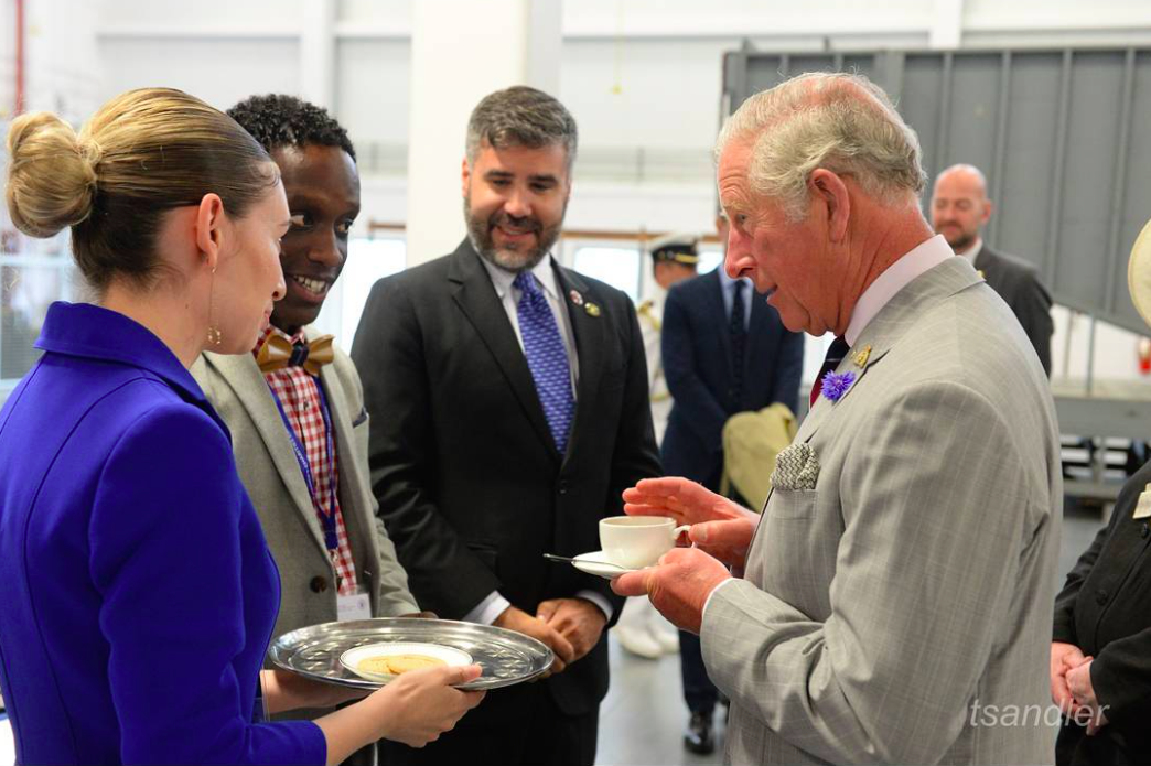 Brampton tea shop receives royal approval from prince charles for St charles craft show 2017