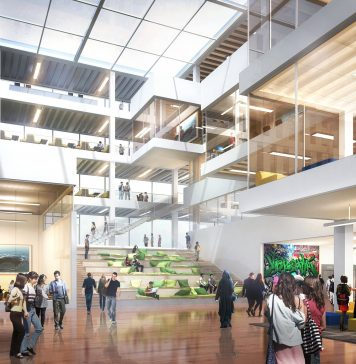 Ryerson University Brampton Campus interior. // Courtesy of Ryerson University