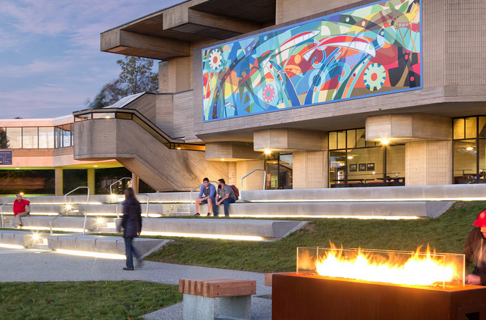 University of Massachusetts Dartmouth Quad // Courtesy of IBI Group