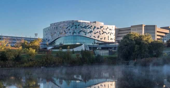 Bergeron Centre for Engineering Excellence // Courtesy of ZAS Architects