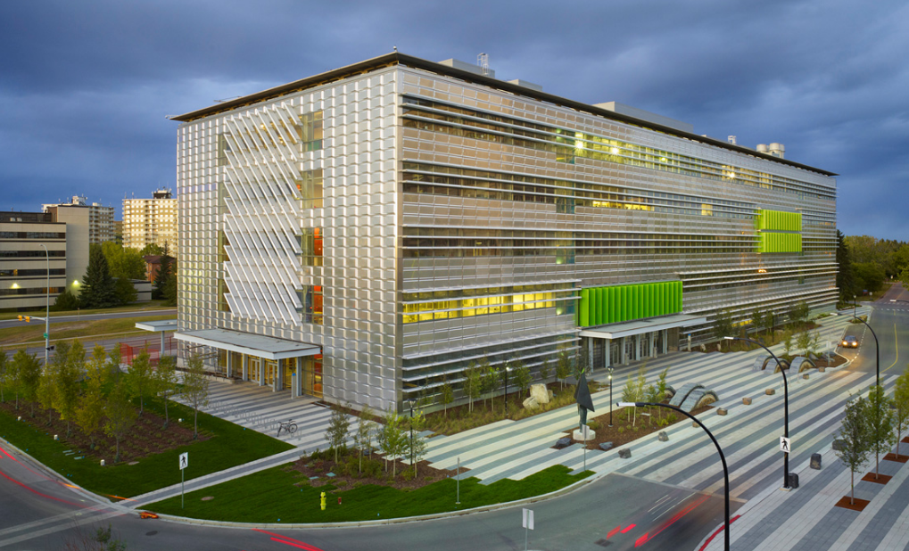 Energy, Environment, Experiential Learning Building at the University of Calgary // Courtesy of Perkin+Will Architecture