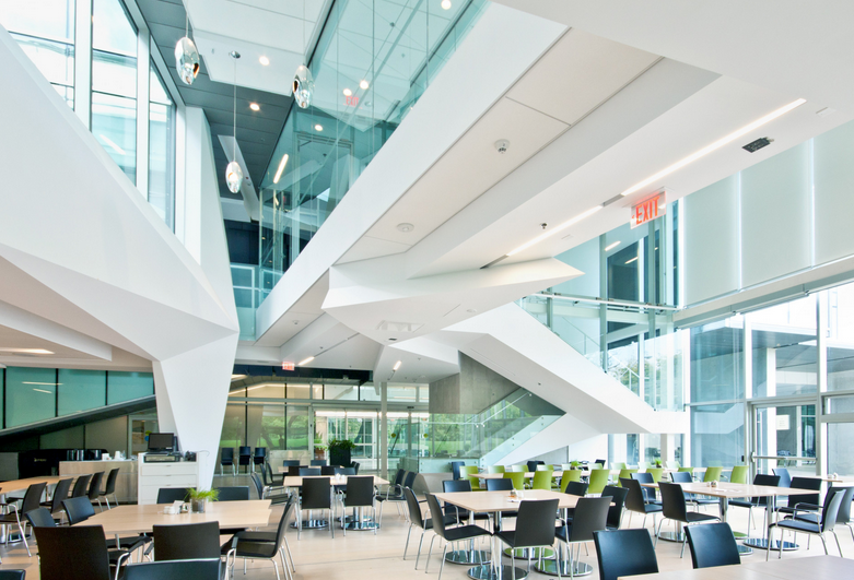 Stephen Hawking Centre at the Perimeter Institute of Theoretical Physics // Courtesy of Teeple Architects