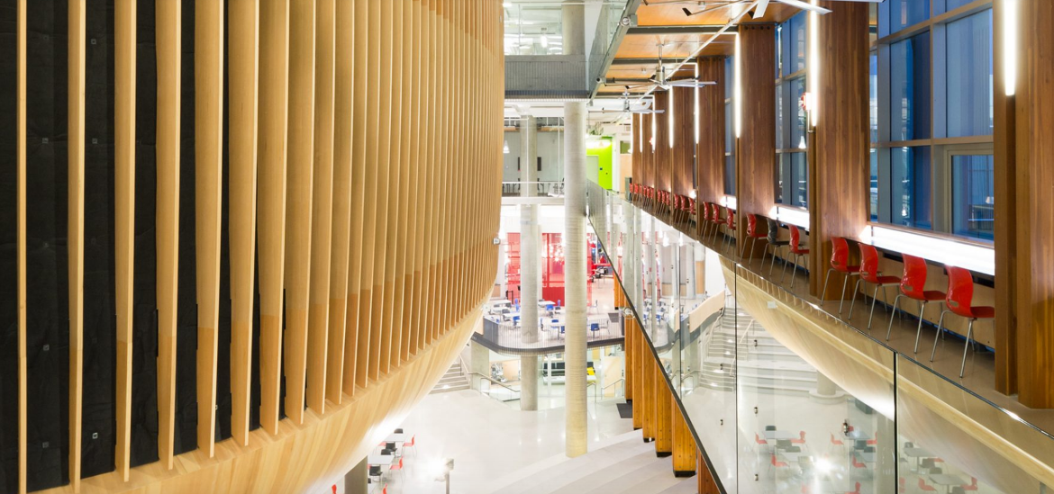 AMS Student Nest at UBC // Courtesy of B+H Architects