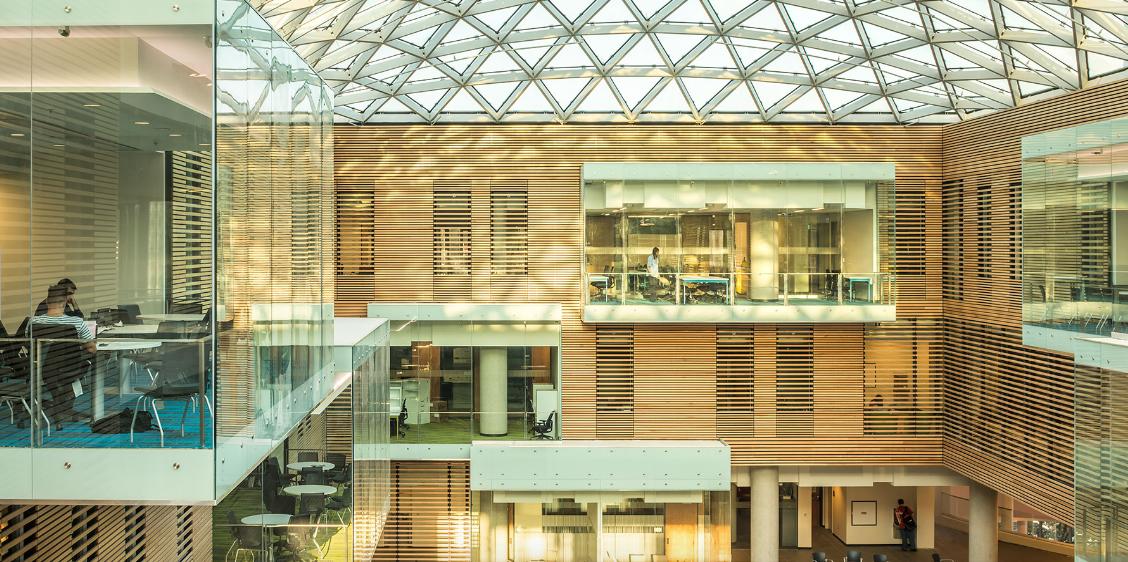 Lazaridis Hall at Wilfrid Laurier University // Courtesy of Diamond Schmitt Architects