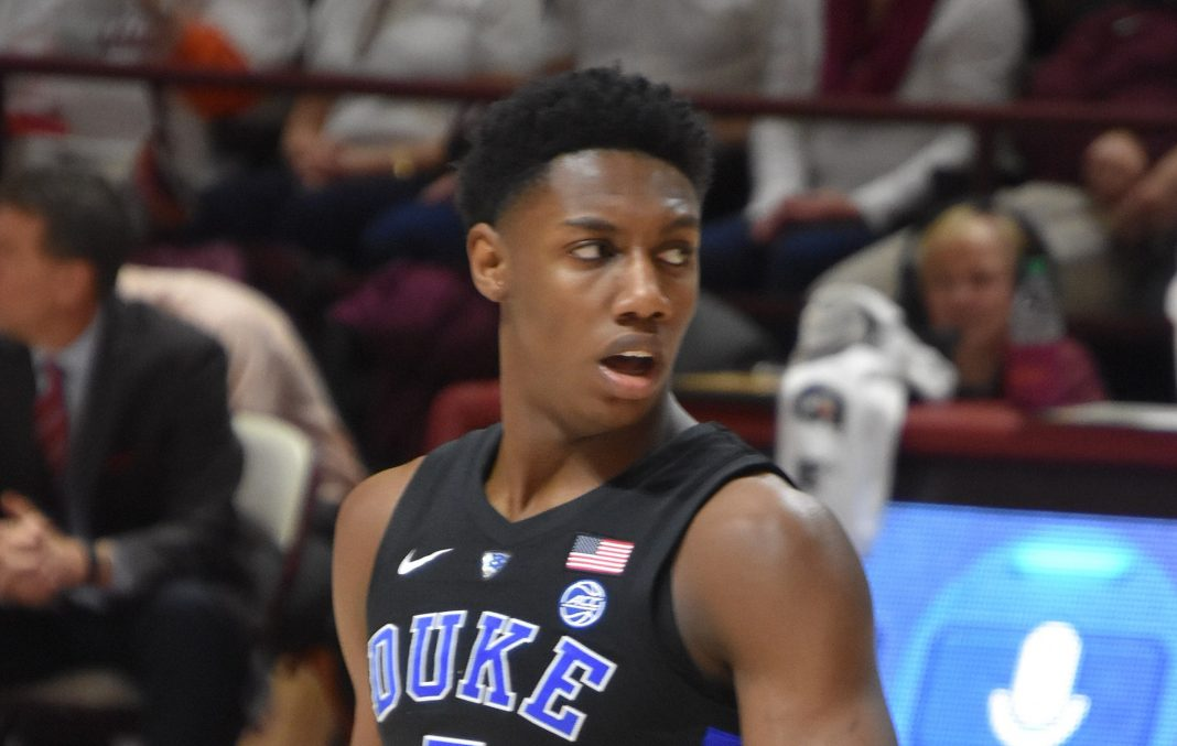 RJ Barrett by SneakinDeacon from New River Valley, Va, United States